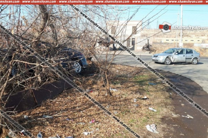 Կոտայքի մարզում բախվել են ՊՆ և Քրեակատարողական ծառայության աշխատակիցների ավտոմեքենաները. Shamshyan.com