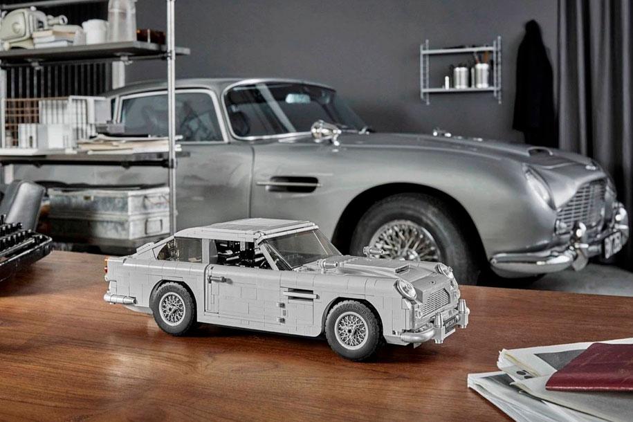 Ջեյմս Բոնդի Aston Martin-ը վերածել են Lego-ի