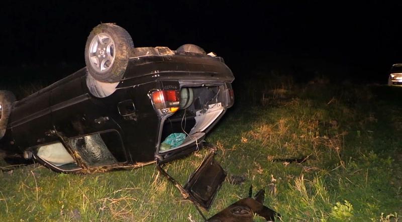 Գեղարքունիքի մարզում մեքենան դուրս է եկել ճանապարհի երթևեկելի հատվածից և կողաշրջվել