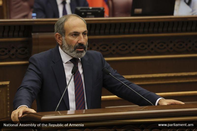 Փաշինյանն ԱԺ ամբիոնից ազդարարեց Հայաստանում համաժողովրդական տնտեսական հեղափոխության մեկնարկը