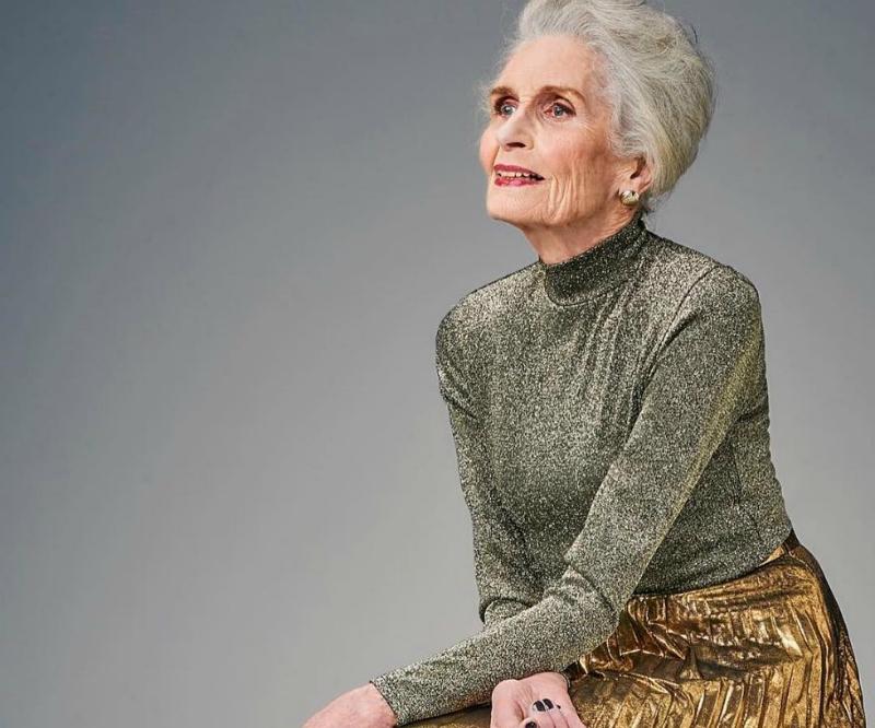 Դրական մտածողություն և հիանալի գեներ. 89-ամյա մոդելն ապացուցում է՝ տարիքն ընդամենը թիվ է (լուսանկարներ)