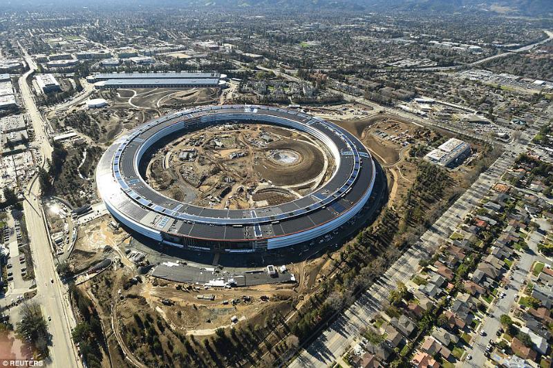 Apple-ի 5 մլրդ դոլար արժողությամբ մասնաշենքը կարող է դիմանալ անգամ ամենաուժեղ երկրաշարժերին