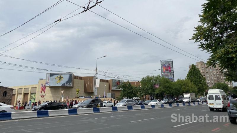 Ահազանգ է ստացվել, որ «Երևան մոլի» Ֆուդկորտում ռումբ է տեղադրված