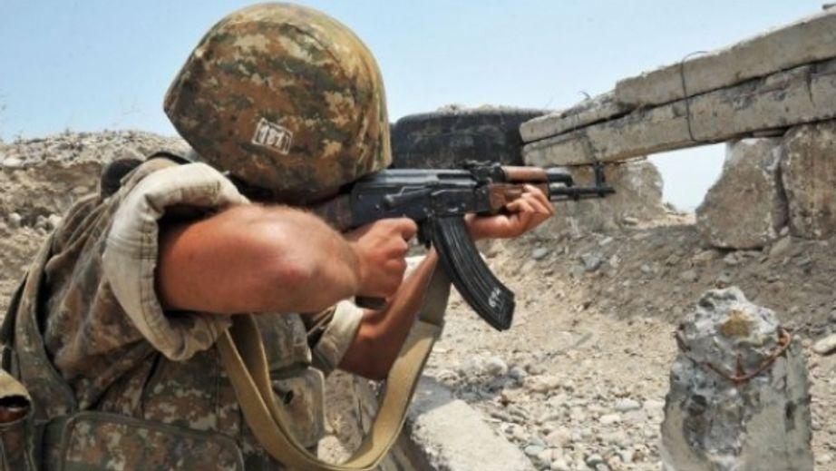 Հակառակորդի դիրքերից մեկում ուժգին պայթուն է որոտացել, հնչել են կրակոցներ. ՊԲ