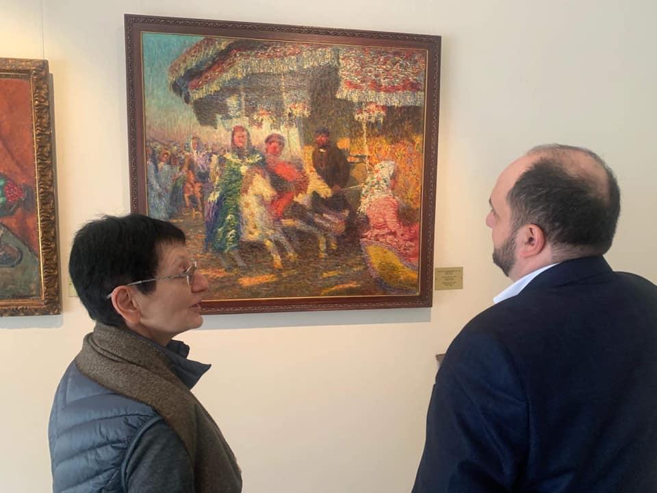 Բաց մի՛ թողեք հնարավորությունը՝ տեսնելու Վրուբելի, Ռերիխի, Բենուայի նկարները. նախարարը Ռուսական արվեստի թանգարանում էր