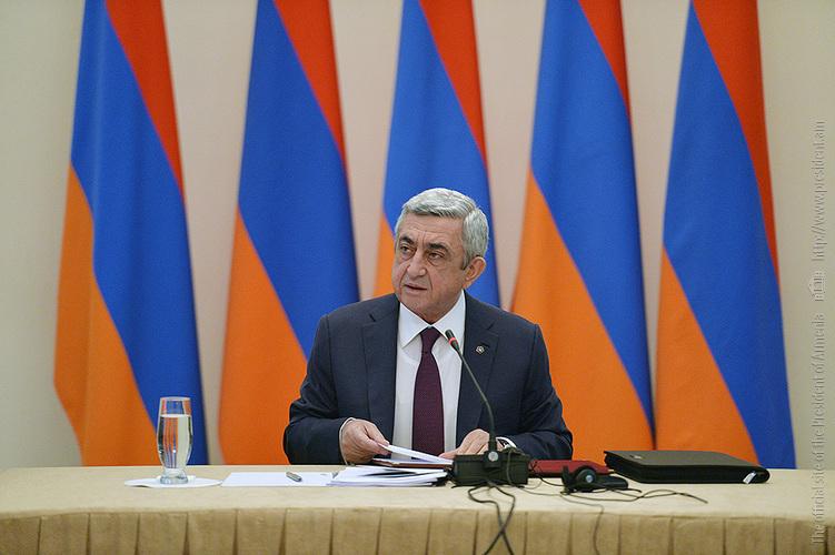 Սերժ Սարգսյանը մասնակցել է Ատոմային էներգետիկայի անվտանգության խորհրդի նիստին (լուսանկարներ)