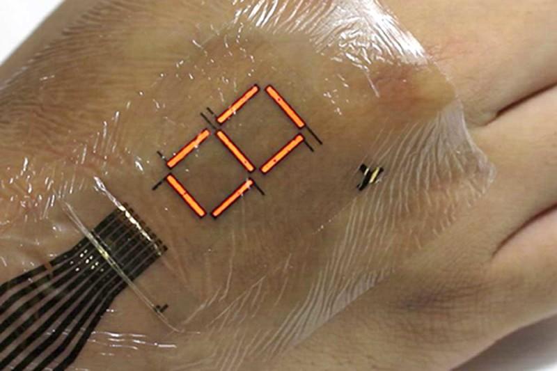 Ստեղծվել է էլեկտրոնային մաշկ, որը հնարավոր է օգտագործել որպես դիսփլեյ (տեսանյութ)