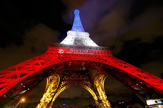 Էյֆելյան աշտարակը կլուսավորվի ԱՄՆ դրոշի գույներով