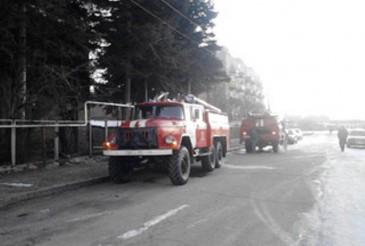 Գազալցակայանի մոտակայքում ավտոմեքենա է այրվել