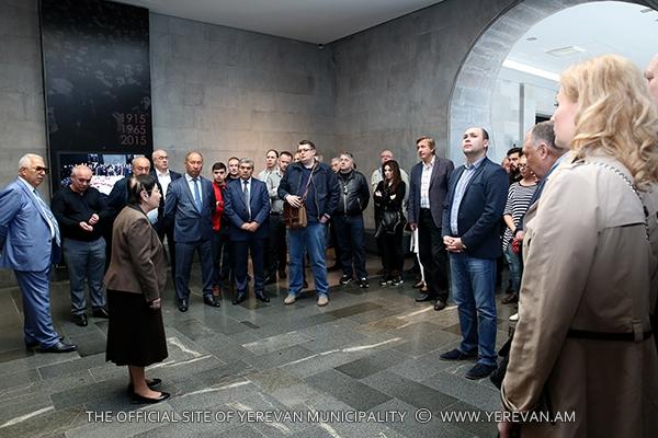 «Մետրո» միջազգային ասոցիացիայի խորհրդի անդամներն այցելել են Ծիծեռնակաբերդ