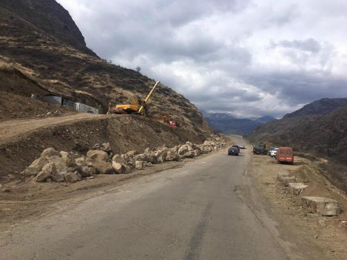 Վանաձոր-Ալավերդի-Բագրատաշեն ճանապարհահատվածը փակ է բեռնատարների և ավտոբուսների համար