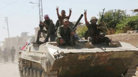 Սիրիայում «ԻՊ»-ի 43 ահաբեկիչ է սպանվել