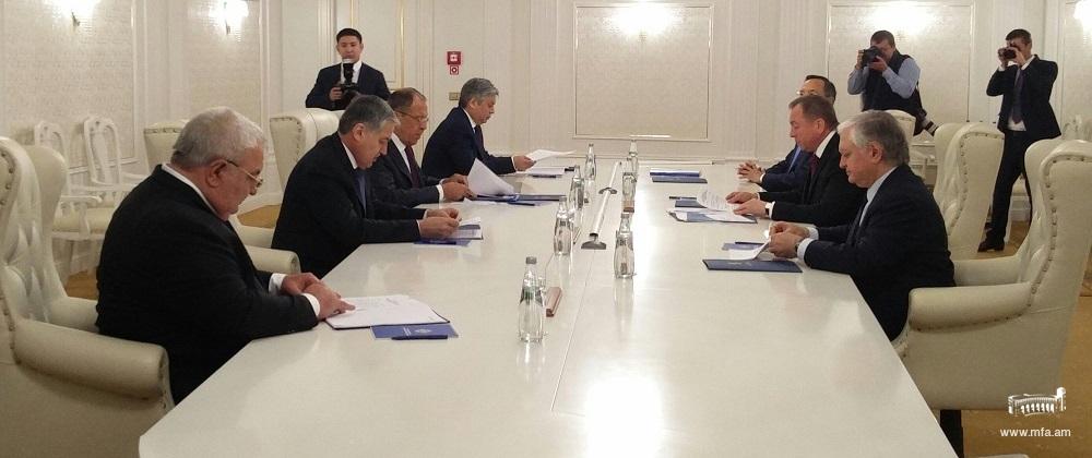 Էդվարդ Նալբանդյանը ՀԱՊԿ արտգործնախարարների խորհրդի նիստին ներկայացրել է ԼՂ հակամարտության կարգավորմանն ուղղված Հայաստանի և ԵԱՀԿ ՄԽ համանախագահների ջանքերը