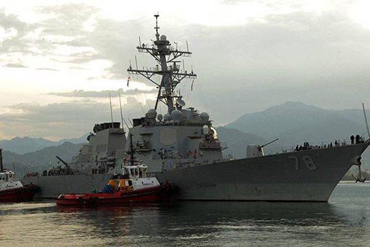 Ամերիկյան ռազմանավը ժամանել է Բաթումի նավահանգիստ