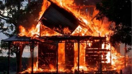 Այրվել է բնակելի տնակ