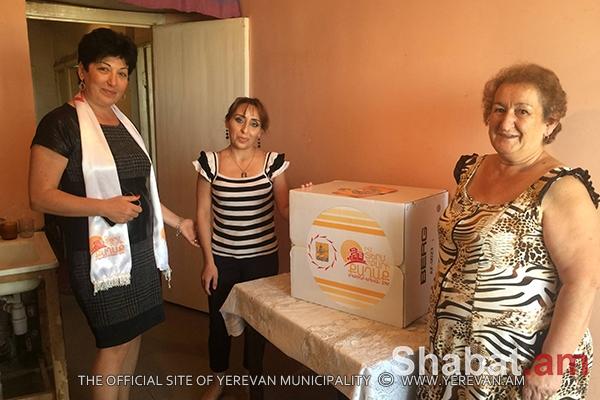 «Էրեբունի-Երևան 2797». սոցիալական ծրագիր, օր 7-րդ (լուսանկարներ)