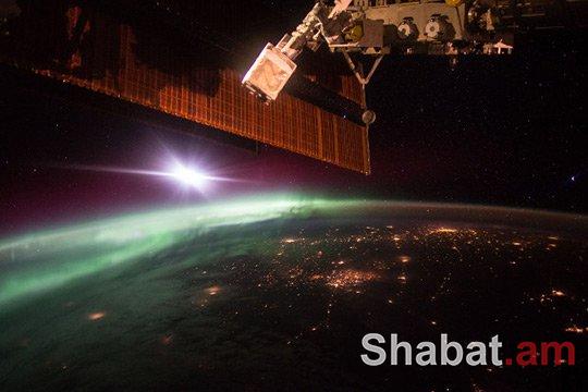 ՆԱՍԱ-ն ցուցադրել է Ավրորայի լուսանկարը