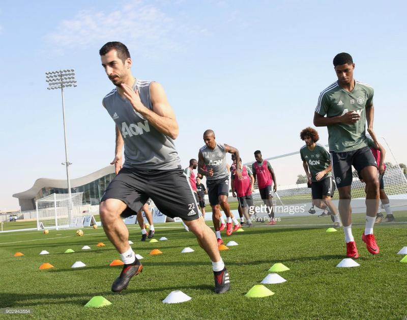 ՄՅՈւ-ի ֆուտբոլիստները մարզվել են Դուբայում (լուսանկարներ)