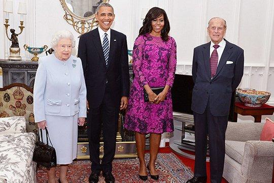Օբաման լանչի սեղանի շուրջ շնորհավորել է Եղիսաբեթ II-ի հոբելյանը