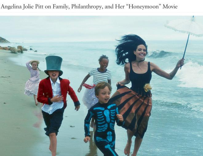 Աշխարհի ամենագեղեցիկ հոլիվուդյան ընտանիքը զարդարել է Vogue-ի նոյեմբերյան համարը (լուսանկարներ)