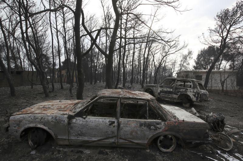 Հունաստանում անտառային հրդեհների հետևանքով զոհերի թիվը հասել է 94-ի