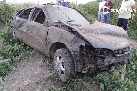 Խոշոր ավտովթար Արարատի մարզում. բժիշկները պայքարում են 31-ամյա վարորդի կյանքի համար