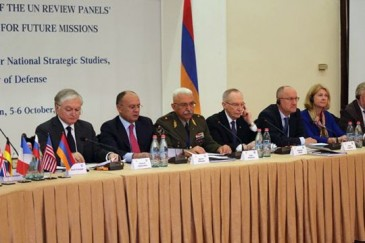 Երևանում անցկացվել է խաղաղապահական գործողություններին մարտահրավերների ամենամյա համաժողովը