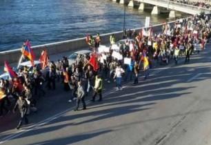 Շվեդահայ համայնքը բողոքի ցույց է անցկացրել ընդդեմ երկրում հայատյացության դրսևորումների և ԼՂՀ դեմ ադրբեջանական ագրեսիայի