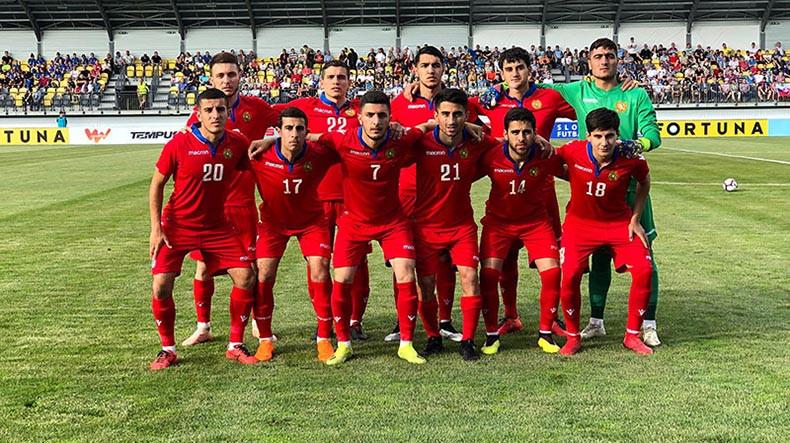 Հայաստանի Մ-21 հավաքականը ժամանել է Իռլանդիա