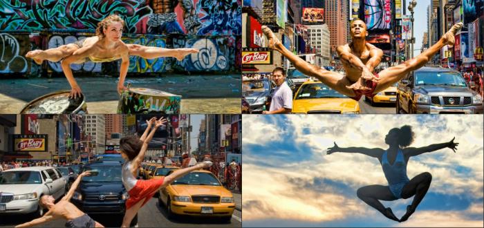Պրոֆեսիոնալ պարողները՝ Նյու Յորքի ֆոնին (ֆոտոշարք)