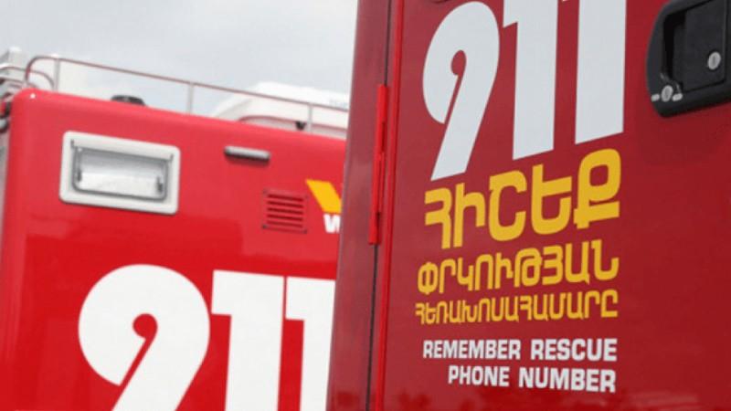 Ահազանգ է ստացվել, որ Երևանի Գ․ Նժդեհի փողոցի թիվ 46 շենքում ռումբ է տեղադրված
