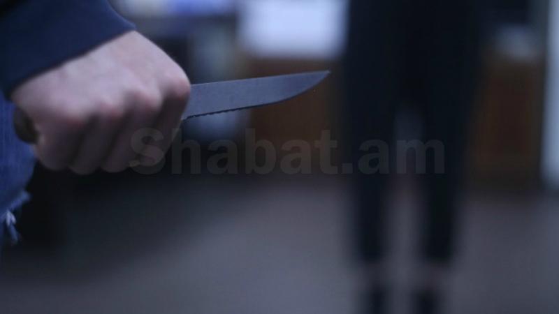 Նոր Հաճնում տղամարդը վիճաբանելիս դանակահարել է համաքաղաքացիներին