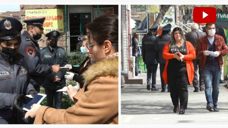Արդյո՞ք քաղաքացիները հետևում են պարետի ցուցումներին. ինչ է կատարվում Երևանի փողոցներում այս օրերին (տեսանյութ)