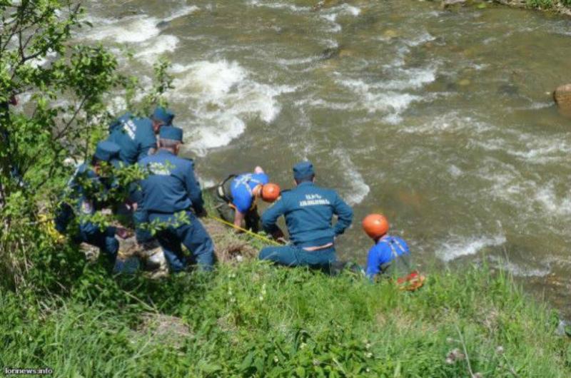 Փրկարարներն անչափահասին դուրս են բերել գետից