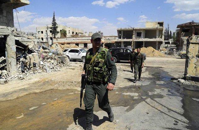 Սիրիական Դումայում բախումներ են ընթանում բանակի ու զինված ահաբեկիչների միջև. РИА Новости