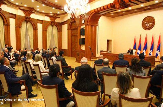 Բակո Սահակյանն ընդունել է ԱՄՆ հայ իրավաբանների միության պատվիրակությանը