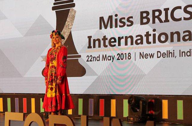 Ռուս աղջիկը դարձել է Miss BRICS International առաջին մրցույթի հաղթողը