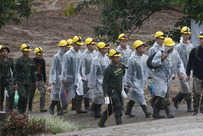 Թաիլանդում փրկարարները ձեռնամուխ են եղել քարայրից մարդկանց տարահանման գործողության եզրափակիչ մասին