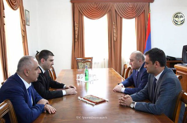 Լևոն Մնացականյանն ընդունել է ՀՀ Անվտանգության խորհրդի քարտուղար Արմեն Գրիգորյանին