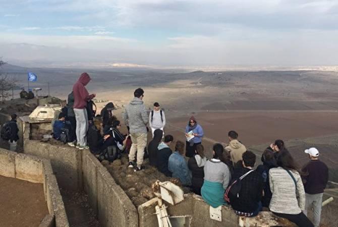 Իսրայելացի զինվորականները սիրիացի փախստականներին թույլ չեն տվել անցնելու Գոլանի բարձունքներ