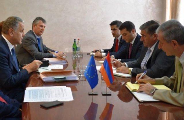 Գյուղնախարարը ԵՄ պաշտոնյայի հետ քննարկել է հնարավոր օժանդակության ուղղությունները