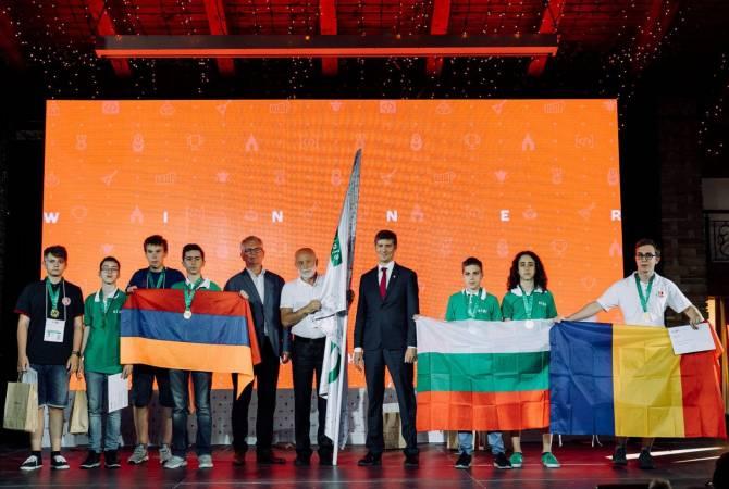 Ինֆորմատիկայի Եվրոպայի պատանեկան օլիմպիադայում հայ աշակերտները 2 մեդալ են նվաճել
