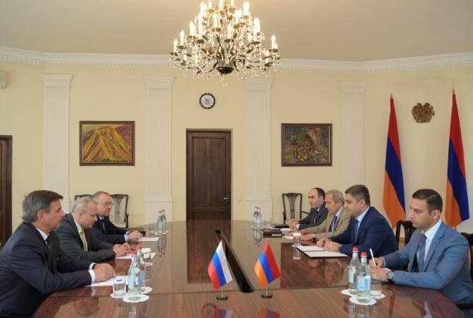 ՌԴ-ի համար Հայաստանը կարևորագույն ռազմավարական գործընկեր է. Արթուր Վանեցյանն ընդունել է ՌԴ դեսպանին