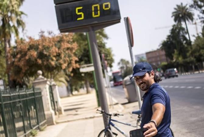 Իսպանիայում սաստիկ շոգերի պատճառով վերջին օրերին մահացածների թիվը հասել է 6-ի