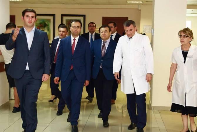 Հայաստանի և Վրաստանի առողջապահության նախարարները քննարկել են համագործակցության հեռանկարները