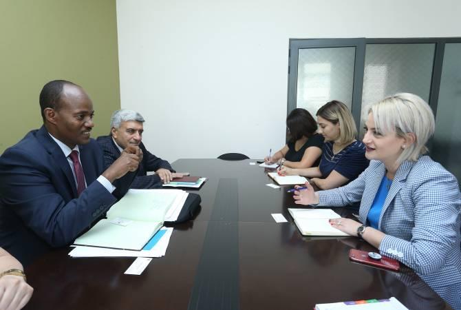 ԿԳ փոխնախարարն ընդունել է Համաշխարհային բանկի մարդկային զարգացման ծրագրի տարածաշրջանային ղեկավարին