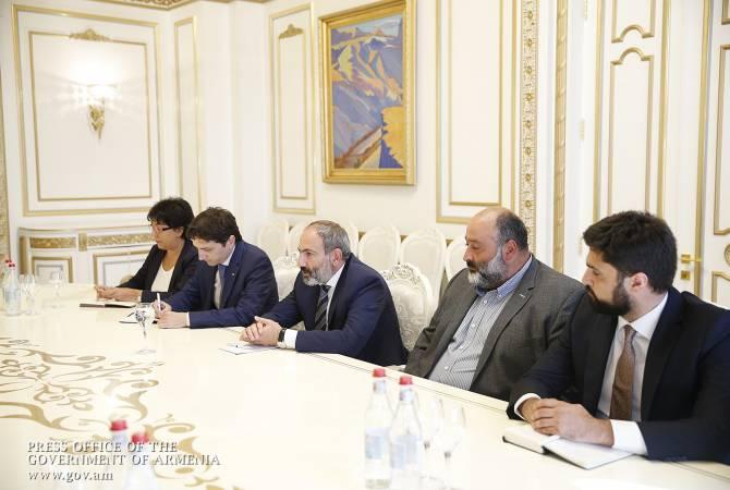 Վարչապետը Հայաստանի գործատուների հանրապետական միության անդամների հետ քննարկել է տնտեսության զարգացմանն ուղղված հարցեր