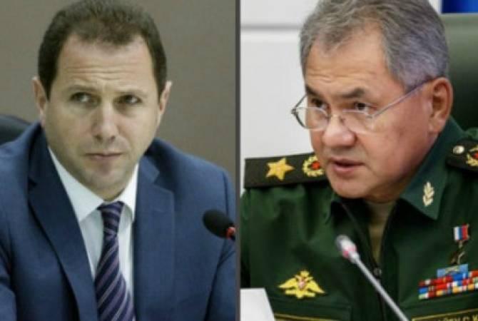ՀՀ պաշտպանության նախարար Դավիթ Տոնոյանը հանդիպում է ունեցել ՌԴ պաշտպանության նախարար, բանակի գեներալ Սերգեյ Շոյգուի հետ
