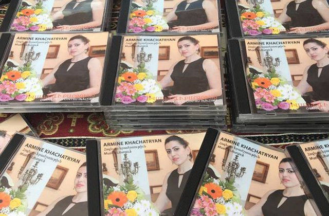 Ռումինիայի Կոնստանցա քաղաքում թողարկվել է հայ հոգևոր երաժշտության նշանավոր գոհարներ պարունակող ձայնասկավառակ