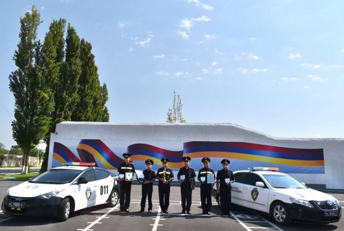«Համաբանակային խաղեր-2018» մրցույթից Ռազմական ոստիկանության «Ճանապարհային պարեկ» խումբը վերադարձել է գավաթով և պատվոգրերով